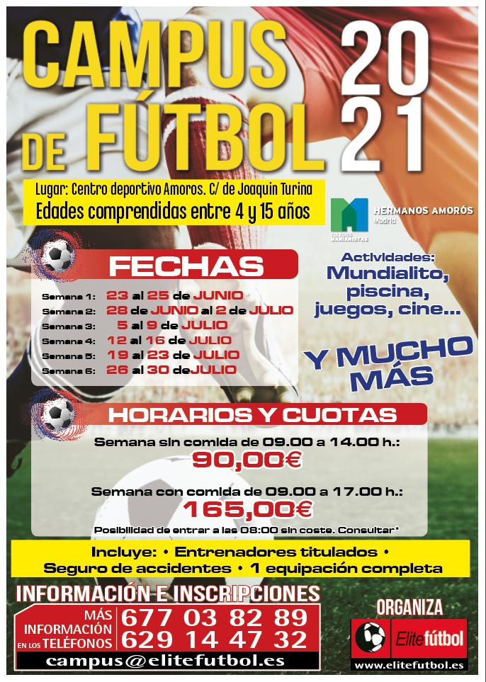 CAMPUS DE FUTBOL ELITEFUTBOL 2021